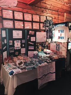 Blair Type 1 Diabetes Foundation Display Table