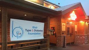 Blair Type 1 Diabetes Foundation Banner